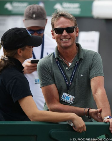 Look who's in town to teach: Carl Hester