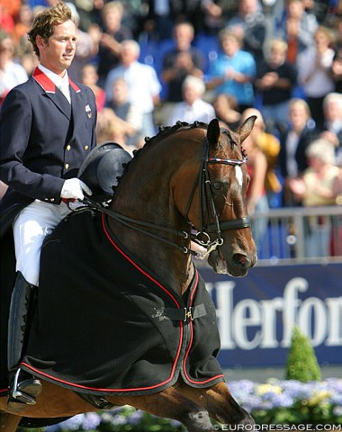 Carl and Escapado finished fifth at the 2005 European Championships