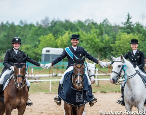 Rachel Bastady, Alexandre Ayache and Grete Ayache successful in Brno