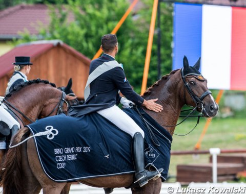 Alexandre Ayache and Zo What win the Grand Prix and Special at the 2019 CDI-W Brno