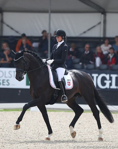Carolin Brandt on Flashback (by Franziskus x Sir Donnerhall)
