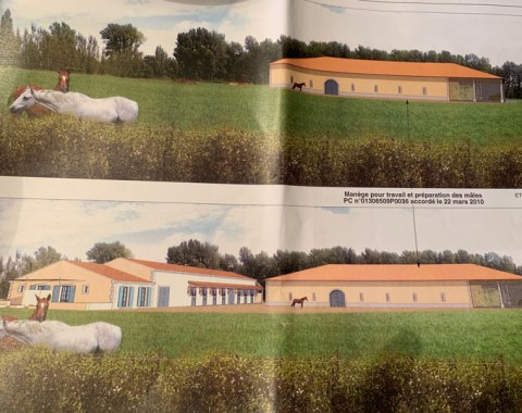 planning permit for an equestrian facility