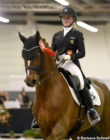 Paulina Holzknecht on her new Under 25 horse Ein Traum