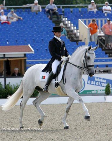 Oxalis at the 2005 European Dressage Championships in Hagen