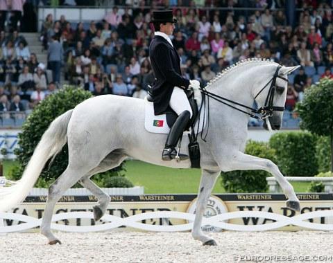 Miguel and Oxalis at the 2006 World Equestrian Games in Aachen