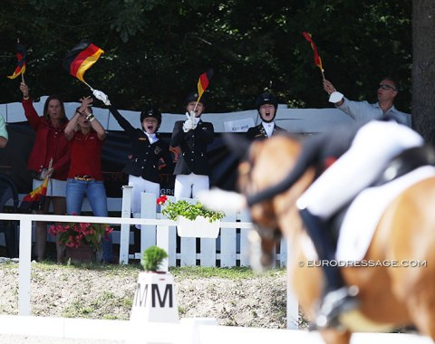 The German camp celebrates as Baumgurtel wraps up her 80% earning ride on Nasdaq