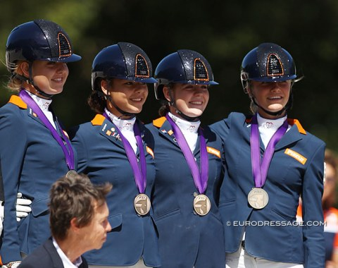 Bronze for The Netherlands