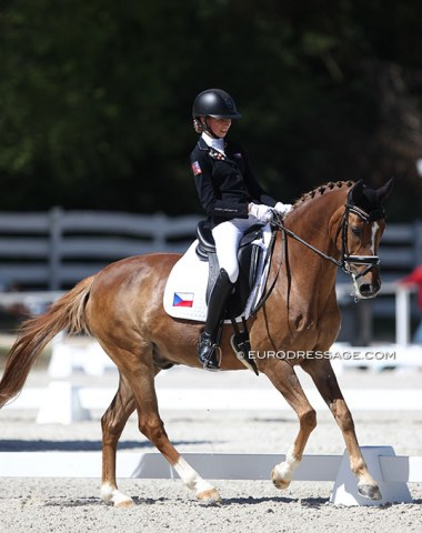The Czech pony team is on the rise with Anna Prochazkova on Nice Guy as a the trailblazers. Definitely a pair with promise for the future!