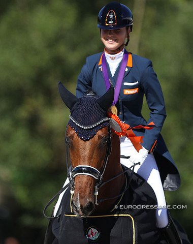 Kur gold for Daphne van Peperstraten and Cupido