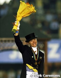 Nadine Capellmann, the 2002 World Dressage Champion