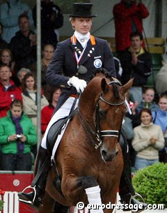 Edward Gal and Lingh at the 2005 Dutch Championships :: Photo © Astrid Appels