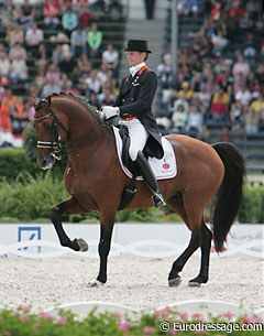 Lingh at the 2006 World Equestrian Games