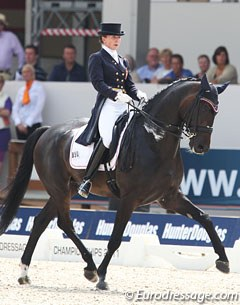 Polish Beata Stremler became the (unexpected) shooting star and surprise rider of the entire 2011 European Dressage Championships. She finished 12th with 74.446%