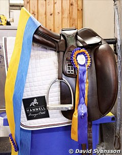The winner's saddle