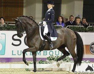 Beatrice Buchwald and Weihegold (by Don Schufro x Sandro Hit)