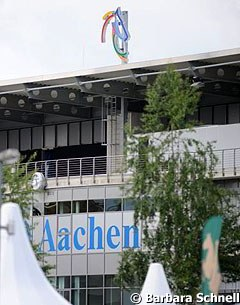 The Aachen grand stand