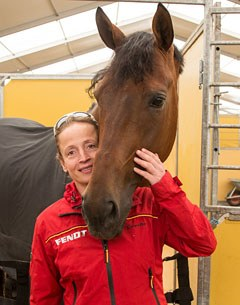 Isabell Werth and Don Johnson are ready for the 2015 CDIO Hagen