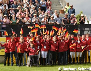 Official presentation of the German Rio Olympics across the three disciplines