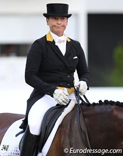 Isabell Werth never hides her feelings after each ride. Not her day with Emilio in Aachen