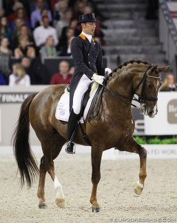 Minderhoud and Tango at the 2012 World Cup Finals :: Photo © Astrid Appels