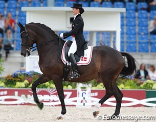 Mikala Munter and My Lady at the 2015 European Championships :: Photo © Astrid Appels