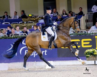 Schmidt and Escolar at the 2017 Nurnberger Burgpokal :: Photo © Tanja Becker