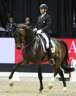 Steffen Peters and Rosamunde :: Photo © Astrid Appels