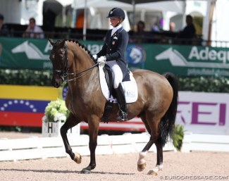 Katherine Bateson Chandler and Alcazar at the 2018 CDI Wellington :: Photo © Astrid Appels