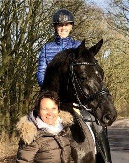 Lientje Schueler and Viola Abrahams, match makers connecting horses and riders globally