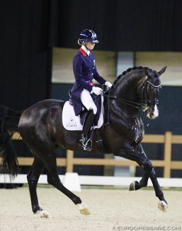 Charlotte Fry and Everdale at the 2018 CDI-W 's Hertogenbosch :: Photo © Astrid Appels