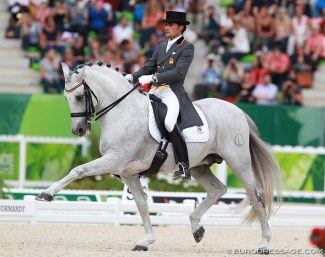 Jose Antonio Garcia Mena and Norte at the 2014 World Equestrian Games :: Photo © Astrid Appels