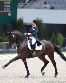Jeannette Haazen and Dabanos d'O4 at the 2017 CDIO Aachen :: Photo © Astrid Appels
