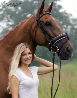 Amanda Perkowski is one of four American Young Riders selected for the 2018 International Dream Program