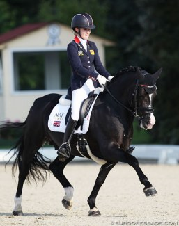 Holly Kerslake and Valhallas Zorro at the 2018 CDIO-PJYR Hagen :: Photo © Astrid Appels
