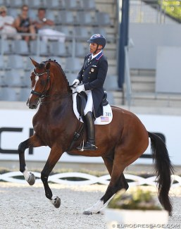 Steffen Peters and Suppenkasper at the 2018 CDIO Aachen :: Photo © Astrid Appels
