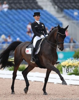 Jessica von Bredow-Werndl and Dalera BB at the 2018 World Equestrian Games :: Photo © Astrid Appels