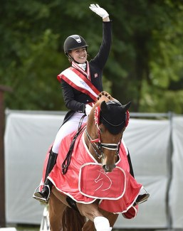 Helgstrand Dressage has employed Cathrine Dufour as a member of its sales and training team