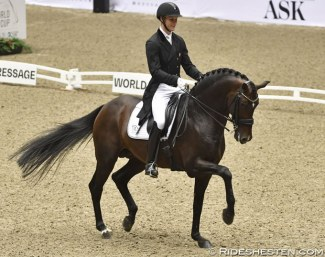 Denmark's Daniel Bachmann Andersen and Blue Hors Zack won the first leg of the new Dressage World Cup 2018/2019 Western European League season on home ground in Herning :: Photo © Ridehesten