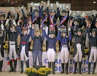The French youth champions of 2018 in all divisions from amateur to FEI level