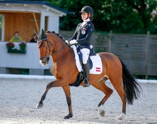 Pia Stallmeister and Maximus are the 2018 Austrian Pony Champions :: Photo © Petra Kerschbaum