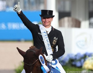 Isabell Werth is the world number one again :: Photo © Astrid Appels