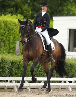 Marion Engelen and Diego at the 2014 CDI Roosendaal :: Photo © Astrid Appels