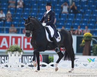 Totilas at the 2015 European Championships in Aachen :: Photo © Astrid Appels