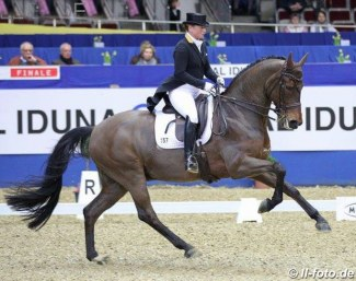 Isabell Werth and Don Johnson at the 2019 CDI Dortmund :: Photo © LL-foto