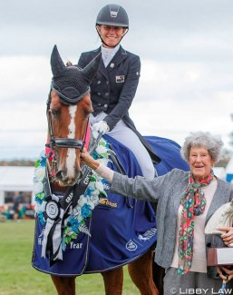 Wendi Williamson and Don Amour MH win the 2019 New Zealand Horse of the Year Title :: Photo © Libby Law