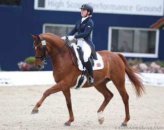 Megan Ingham and Wanadoo at the 2018 CDIO-YR Hagen :: Photo © Astrid Appels
