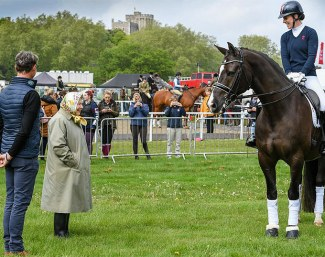 Valegro meets Queen Elizabeth II at the Royal Windsor Horse Show