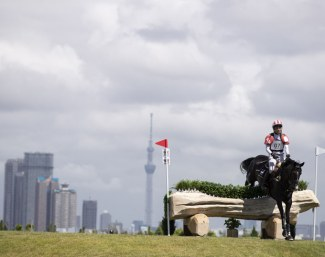 A major research study aimed at identifying best practices and management of horses training and competing in hot and humid environments was conducted by the FEI during last week's Ready Steady Tokyo test event, where Japan's Ryuzo Kitajima and Vick Du Grisors JRA finished second overall :: Photo © Yusuke Nakanishi)
