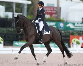 Alexandra Andresen and Empire at the 2018 CDI Wellington :: Photo © Astrid Appels