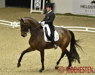 Severo Jurado Lopez and Fiontini at the CDI Herning in March 2019 :: Photo © Ridehesten